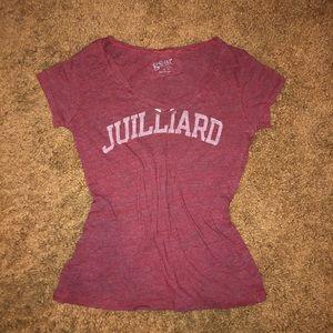 The Julliard school shirt